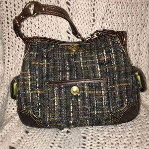 Tweed Coach Chelsea Boucle bag.✔️Firm✔️